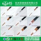 "3/8 "" câble coaxial de Heliax de câble hélicoïdal flexible superbe"