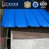 旧式な波形の鋼鉄多彩な屋根瓦