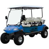 Carro de golfe da caça com cesta traseira (DEL2042D, 4+2seat)