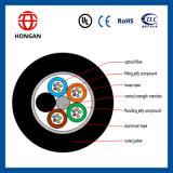 Câble optique blindé de conduit de 48 faisceaux en Chine GYTA