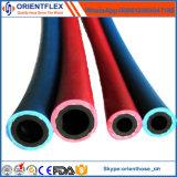 De rubber TweelingSlang van de Zuurstof en van het Acetyleen