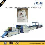 기계에게 인라인 인쇄를 만드는 PP에 의하여 길쌈되는 시멘트 부대
