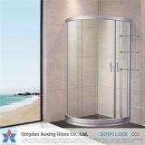 Vidrio Tempered/endurecido claro para el vidrio del cuarto de baño con precio barato