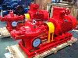 세륨 Certificate를 가진 W Series Horizontal Tangent Fire Fighting Pump