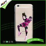 NBAプレーヤーのスポーツの確実のiPhone 6のための習慣によって印刷されるiPhoneの箱