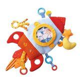 Stuk speelgoed van de Activiteit van de Pluche van de machine het Wasbare met de Elementen van het Tandjes krijgen