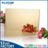 Olsoon Golden Acryl Mirror blad Plastics PMMA Sheet