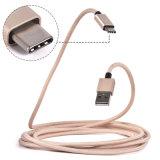 Umsponnenes schnelles aufladendaten-Synchronisierung USB-Nylonkabel für Typen-c