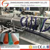Машина Extusion трубы шланга сада PVC цветастая спиральн