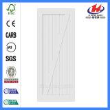 Perfectionner la porte plus blanche en bois intérieure américaine d'amorce de modèle (JHK-SK07)