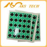 65 etiquetas engomadas cambiantes de la temperatura de la escritura de la etiqueta del color sensible al calor reversible centígrado