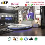 2017 re Size Round Bedroom Furniture (HC558) della base più popolare bianco del cuoio