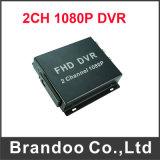 2 canal DVR móvil para la cámara del soporte 1080P Ahd del taxi