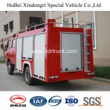 Dongfeng 3ton 물 유형 소방차 트럭 Euro5