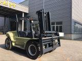 caminhão resistente de Forklif do motor Diesel da construção 10ton
