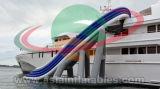 O ar novo do projeto 2017 selou a corrediça inflável do iate da água, corrediça inflável da doca para a venda