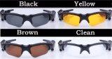 2017 mini DV videocámara de la nueva del soporte de Bluetooth MP3 del jugador de la foto de las gafas de sol cámara video para los mini vidrios de la cámara del deporte al aire libre