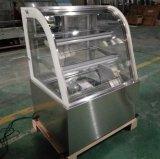 Caso de indicador de degelo automático de mármore do bolo do refrigerador da alta qualidade (RL760A-M2)