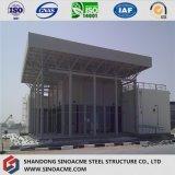 Structuur van het Frame van het staal de Ruimte voor het Dak van de Loods