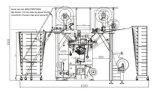 Máquina de confeção de malhas da urdidura de Multibar