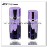 bottiglia di lusso rotonda dentellare della pompa di aria della lozione 60ml