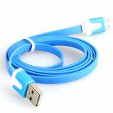 Câble usb de remplissage de téléphone mobile évolutif plat pour Samsung