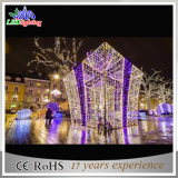 Do Natal ao ar livre do diodo emissor de luz da rua luz decorativa do feriado da caixa