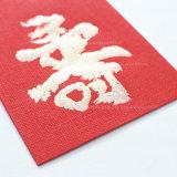 Dinheiro de contenção de papel vermelho como um presente para Brithday