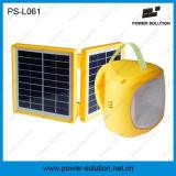 Torcia solare ricaricabile della lanterna di energia verde con cavo di carico mobile
