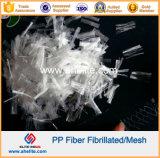 Fibrillated 화학 섬유 PP 메시 섬유 Microfiber