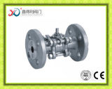투자 주물의 중국 공장 3PC 플랜지 Pn40 공 벨브