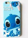 La historieta caliente Crump la caja del silicón de la puntada para iPhone6