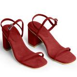 Самые последние сандалии женщины конструкции