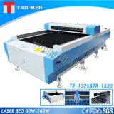 Preço do cortador do laser da máquina de estaca do metal e do metalóide do triunfo
