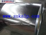 Bobina de acero galvanizada sumergida caliente de la tira