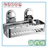 Hauptbadezimmer-Ecken-Speicher-Zahnstangen-Organisator-Dusche-Wand-Regal mit Absaugung-Cup