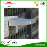 L'aluminium durable pratique 48LED obscurcissent la lampe solaire extérieure de lumière solaire de mur de mode