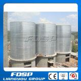 O silo do armazenamento com para plástico lasc armazenamento dos grânulo 100t