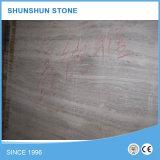 Mattonelle di legno grige di prima classe del marmo del grano
