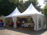 Tentes extérieures de mariage de Pogoda d'usager de PVC Nigéria en verre de chapiteau