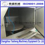 Chariot-type machine de sablage de plaque tournante/machine portative de sablage de plaque tournante