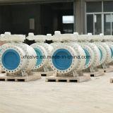 Válvulas de esfera industriais da flange do uso do tamanho grande