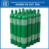 Cilindro de gás de argônio nitrogênio de oxigênio com oxigênio de CO2 semeado