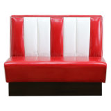 (SP-KS269) Leather 50s Restaurant Retro Diner américain Bel Air Booth