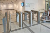 304 турникет треноги контроля допуска нержавеющей стали 1.2mm RFID франтовской