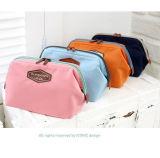 Sac cosmétique portatif multifonctionnel de la Corée de tissu de coton de mode beau