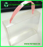 Clear PVC Plastic Tuck Top Embalagem Display Gift Boxes