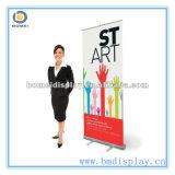 Roll economico su Banner Stand, Aluminum Banner Stand per Advertizing, Aluminum Feet con Clip Bar