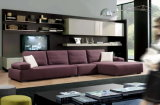 Sectional moderno Fabric Sofa con Adjustable Backrest
