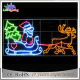 제 2 아름다운 산타클로스 주제 크리스마스 장식적인 빛